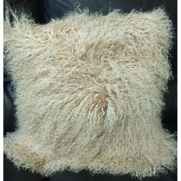 Beautifur Mongolian Lamb Fur Wool Pillow Cushion 16 Quot X16